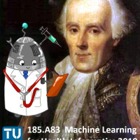 185.A83 Machine Learning for Health Informatics (class of 2019) Start: 12th March 2019 (3 ECTS, 2 h, G)