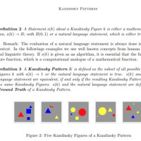 The first publication on our KANDINSKY Universe, the experimental environment for explainability and causability